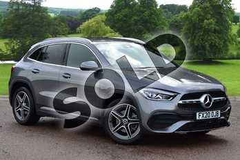 Mercedes-Benz GLA GLA 200d AMG Line Executive 5dr Auto in Mountain Grey Metallic at Mercedes-Benz of Grimsby