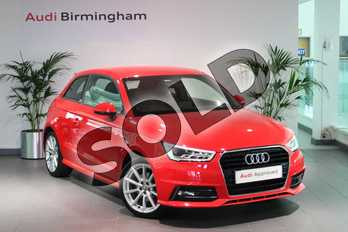 Audi A1 1.4 TFSI S Line 3dr in Misano Red Pearlescent at Birmingham Audi