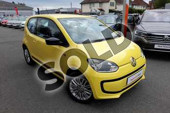 Volkswagen Up 1.0 Look Up 3dr in Yellow Solid at Listers Volkswagen Worcester