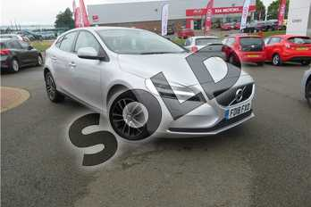 Volvo V40 T3 (152) Momentum 5dr Geartronic in Metallic - Bright silver at Listers Toyota Grantham