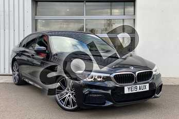 BMW 5 Series 530e M Sport 4dr Auto in Black Sapphire metallic paint at Listers King's Lynn (BMW)