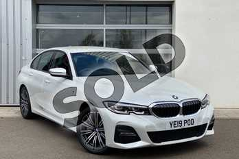 BMW 3 Series 330e M Sport 4dr Auto in Mineral White at Listers King's Lynn (BMW)