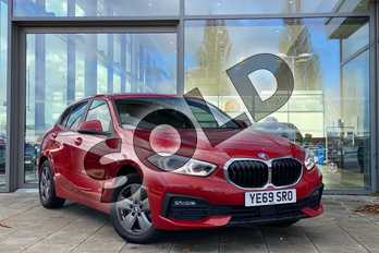 BMW 1 Series 116d SE 5dr in Melbourne Red metallic at Listers King's Lynn (BMW)