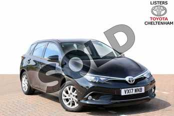 Toyota Auris 1.2T Icon TSS 5dr in Eclipse Black at Listers Toyota Cheltenham