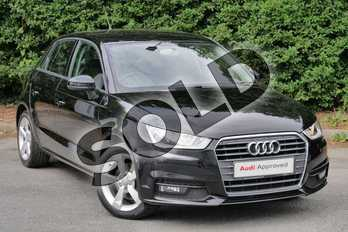 Audi A1 1.4 TFSI Sport 5dr in Brilliant Black at Worcester Audi