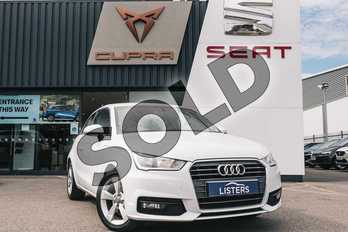 Audi A1 1.4 TFSI Sport 3dr in White at Listers SEAT Coventry