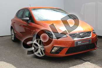 SEAT Ibiza 1.0 TSI 95 FR (EZ) 5dr in Orange at Listers SEAT Worcester