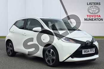 Toyota AYGO 1.0 VVT-i X-Play 5dr in White at Listers Toyota Nuneaton