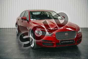 Jaguar XE 2.0d (180) Portfolio 4dr Auto in Firenze Red at Listers Jaguar Solihull