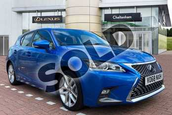 Lexus CT 200h 1.8 Luxury 5dr CVT in Blue at Lexus Cheltenham