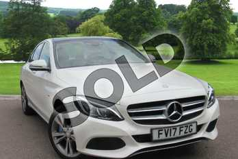 Mercedes-Benz C Class C350e Sport Premium Plus 4dr Auto in Diamond White Metallic at Mercedes-Benz of Lincoln