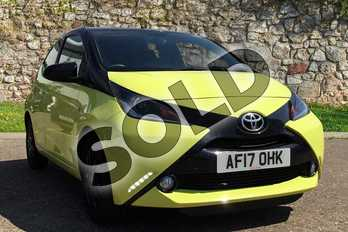 Toyota AYGO 1.0 VVT-i X-Cite 3 5dr in Yellow at Listers Toyota Boston