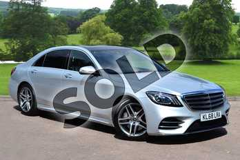 Mercedes-Benz S Class S350d L AMG Line Executive 4dr 9G-Tronic in Iridium Silver metallic at Mercedes-Benz of Grimsby