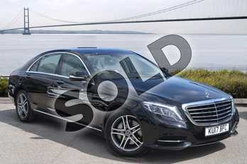 Mercedes-Benz S Class S350d L SE Line 4dr 9G-Tronic in Obsidian Black metallic at Mercedes-Benz of Hull