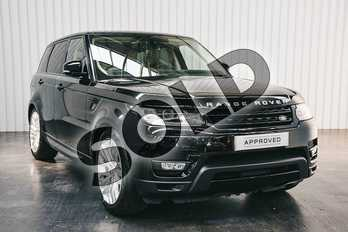 Range Rover Sport 3.0 SDV6 Autobiography Dynamic 5dr Auto in Barolo Black at Listers Land Rover Solihull