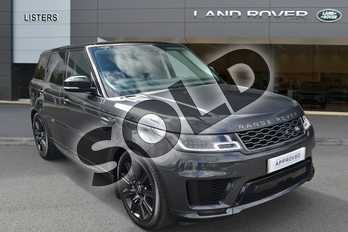 Range Rover Sport 2.0 P400e HSE Dynamic 5dr Auto in Carpathian Grey at Listers Land Rover Hereford