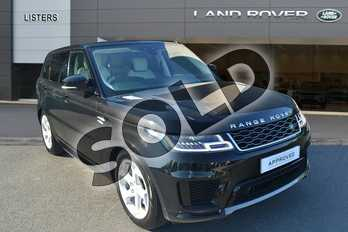 Range Rover Sport 3.0 SDV6 HSE 5dr Auto in Santorini Black at Listers Land Rover Hereford