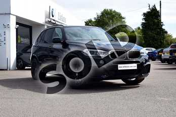 BMW X5 xDrive30d M Sport 5dr Auto in Black Sapphire metallic paint at Listers Boston (BMW)