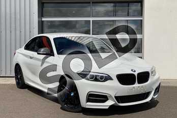 BMW 2 Series M240i 2dr (Nav) Step Auto in Alpine White at Listers King's Lynn (BMW)
