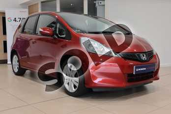 Honda Jazz 1.4 i-VTEC ES Plus 5dr CVT in Passion Red at Listers Honda Northampton