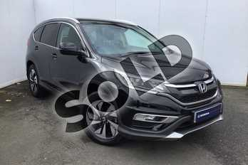 Honda CR-V 2.0 i-VTEC EX 5dr Auto in Crystal Black at Listers Honda Solihull