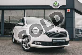 Skoda Fabia 1.0 TSI 110 SE 5dr in Candy White at Listers ŠKODA Coventry