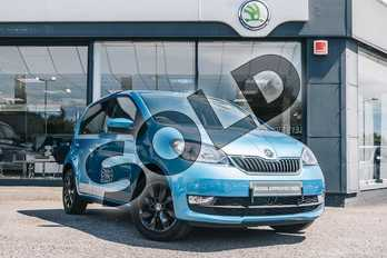 Skoda Citigo 1.0 MPI Colour Edition 5dr in Crystal Blue at Listers ŠKODA Coventry
