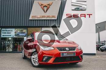 SEAT Ibiza 1.0 SE Technology 5dr in Red at Listers SEAT Coventry