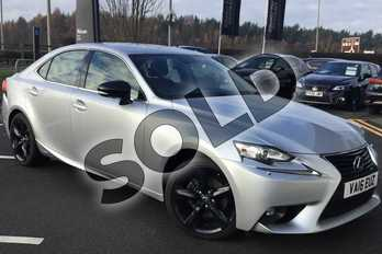 Lexus IS 300h Sport 4dr CVT Auto in Silver at Lexus Lincoln