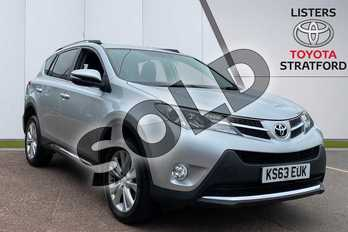 Toyota RAV4 2.2 D-CAT Invincible 5dr Auto in Silver at Listers Toyota Stratford-upon-Avon