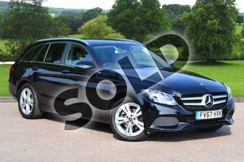 Mercedes-Benz C Class C200 SE Executive Edition 5dr 9G-Tronic in Obsidian Black Metallic at Mercedes-Benz of Grimsby