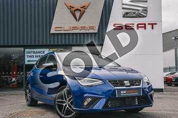 SEAT Ibiza 1.0 TSI 115 FR Sport (EZ) 5dr DSG in Blue at Listers SEAT Coventry