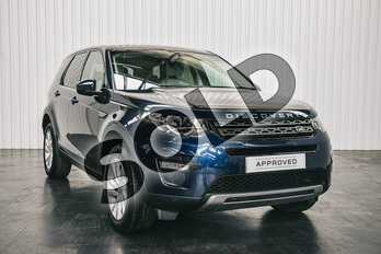 Land Rover Discovery Sport 2.0 TD4 180 SE Tech 5dr Auto in Loire Blue at Listers Land Rover Solihull