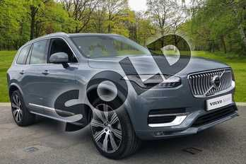 Volvo XC90 2.0 B5D (235) Inscription Pro 5dr AWD Geartronic in Thunder Grey at Listers Volvo Worcester