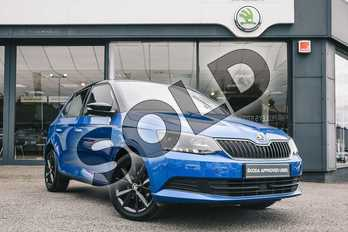 Skoda Fabia 1.0 TSI Colour Edition 5dr in Race Blue at Listers ŠKODA Coventry