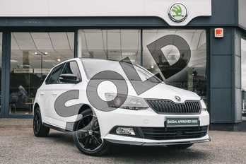 Skoda Fabia 1.0 TSI 110 Monte Carlo 5dr in Laser White at Listers ŠKODA Coventry