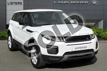 Range Rover Evoque 2.0 TD4 SE Tech 5dr Auto in Yulong White at Listers Land Rover Droitwich