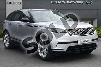 Range Rover Velar 3.0 P380 HSE 5dr Auto in Indus Silver at Listers Land Rover Droitwich