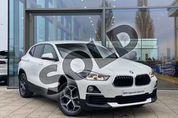 BMW X2 xDrive 18d Sport 5dr in Alpine White at Listers King's Lynn (BMW)