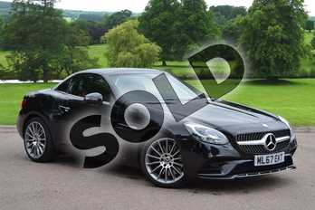 Mercedes-Benz SLC SLC 250 d AMG Line in Obsidian Black Metallic at Mercedes-Benz of Grimsby