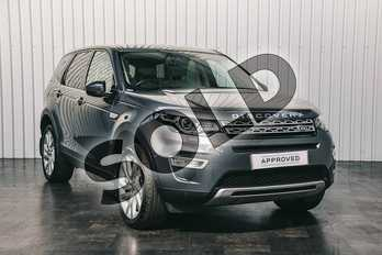 Land Rover Discovery Sport 2.0 TD4 180 HSE Luxury 5dr Auto in Corris Grey at Listers Land Rover Solihull