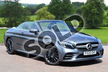 Mercedes-Benz C Class C43 4Matic Premium 2dr 9G-Tronic in selenite grey metallic at Mercedes-Benz of Grimsby