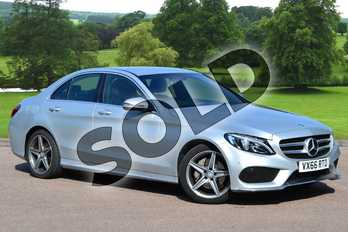 Mercedes-Benz C Class C200d AMG Line 4dr in Iridium Silver Metallic at Mercedes-Benz of Grimsby