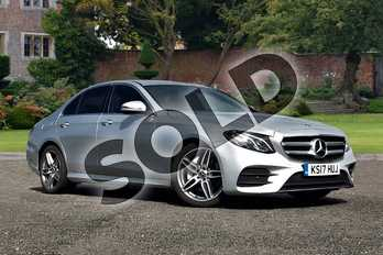 Mercedes-Benz E Class E220d AMG Line 4dr 9G-Tronic in Iridium Silver Metallic at Mercedes-Benz of Lincoln