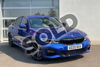 BMW 3 Series 320i M Sport 4dr Step Auto in Portimao Blue at Listers King's Lynn (BMW)