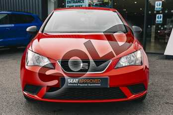 SEAT Ibiza 1.0 Sol 5dr in Emocion Red at Listers SEAT Coventry