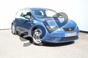 SEAT Ibiza 1.0 Sol 3dr in Blue at Listers SEAT Worcester