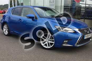 Lexus CT 200h 1.8 5dr CVT in Sky Blue at Lexus Lincoln