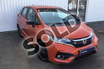 Honda Jazz 1.5 i-VTEC Sport Navi 5dr in Sunset Orange at Listers Honda Solihull