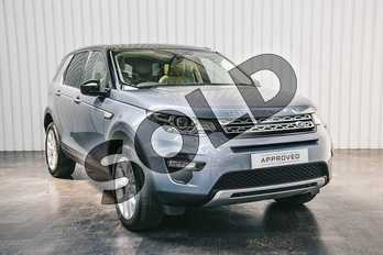 Land Rover Discovery Sport 2.0 TD4 180 HSE 5dr Auto in Byron Blue at Listers Land Rover Solihull